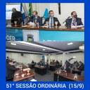 51ª Sessão Ordinária (15/09/2021)
